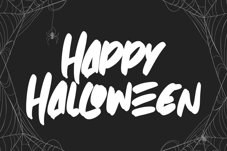 Spooky Brush - Hallowen Fonts example image 2