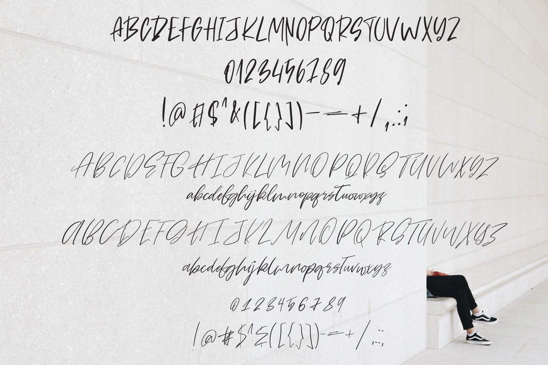Twenty Five. Font Duo example image 5