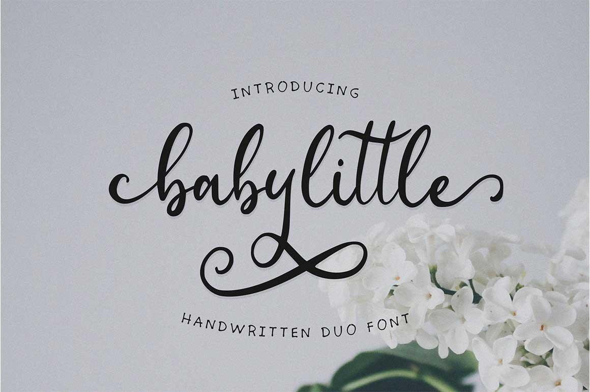 HUGE BUNDLE - Calligraphy Font example image 13