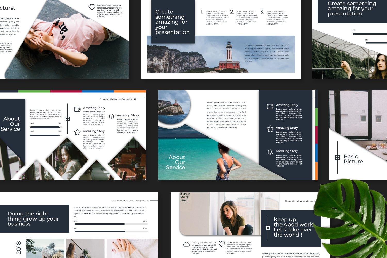 Flowerwall Business Google Slide example image 7