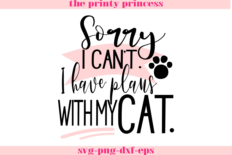 Download Cat Svg Funny Cat Svg I Have Plans With My Cat Svg 286124 Svgs Design Bundles