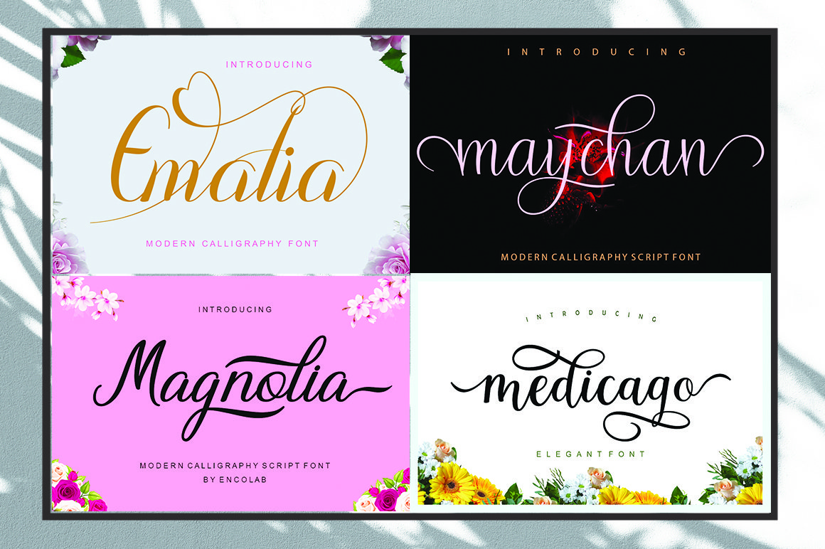 20 Fonts Bundle Only $5 example image 5
