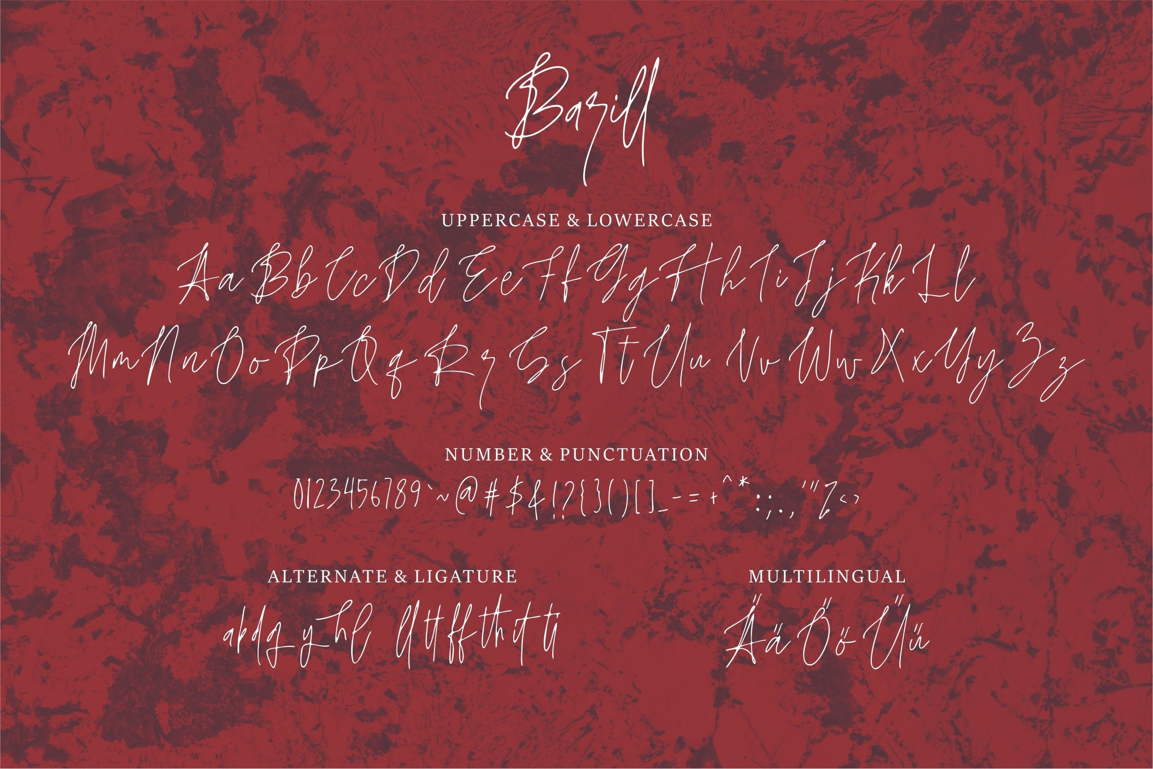 Barill - A Handwritten Font example image 5