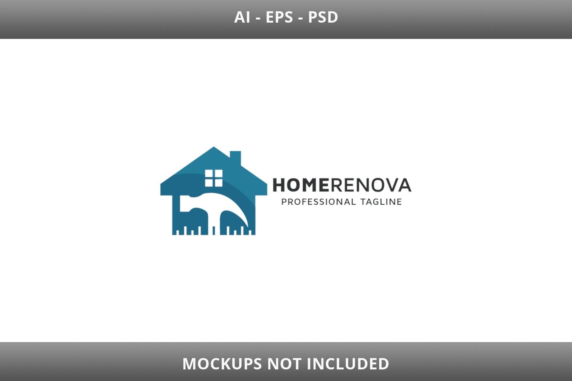 Home Renova Logo example image 2