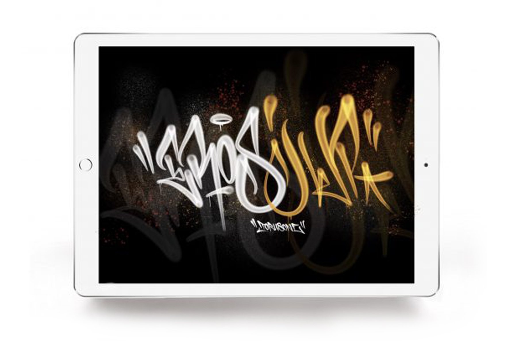 Download LOVE LETTERS CALLIGRAFFITI BRUSH PACK FOR PROCREATE ...