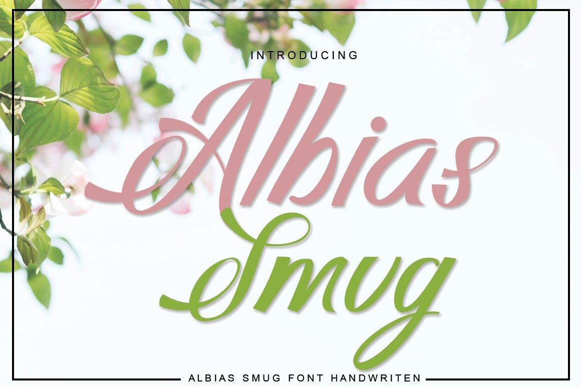 Albias Smug example image 2
