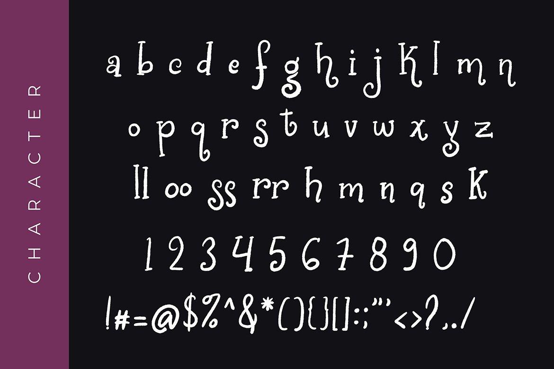 Chalk World Display Font example image 6