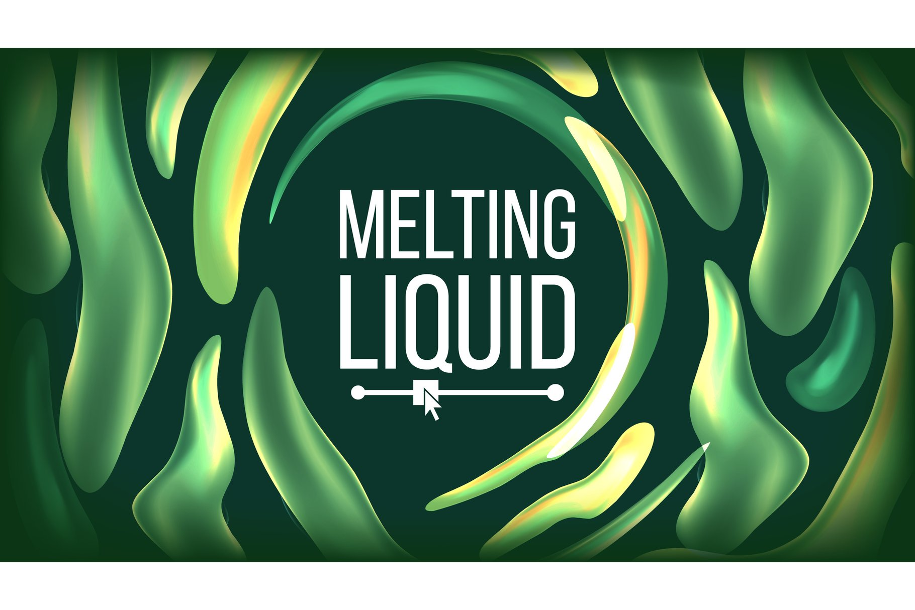 Fluid Liquid Background Vector. Futuristic Design. Abstract example image 1