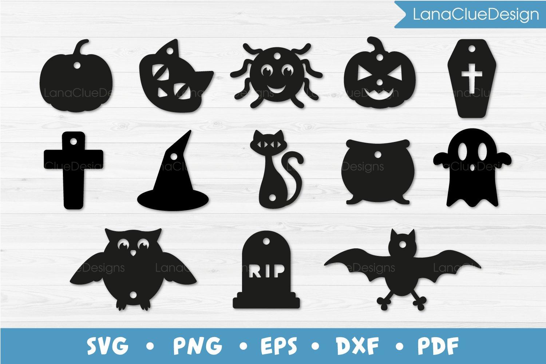 13 Halloween Gift Tags Bundle Svg Cut Files 778196 Cut Files Design Bundles