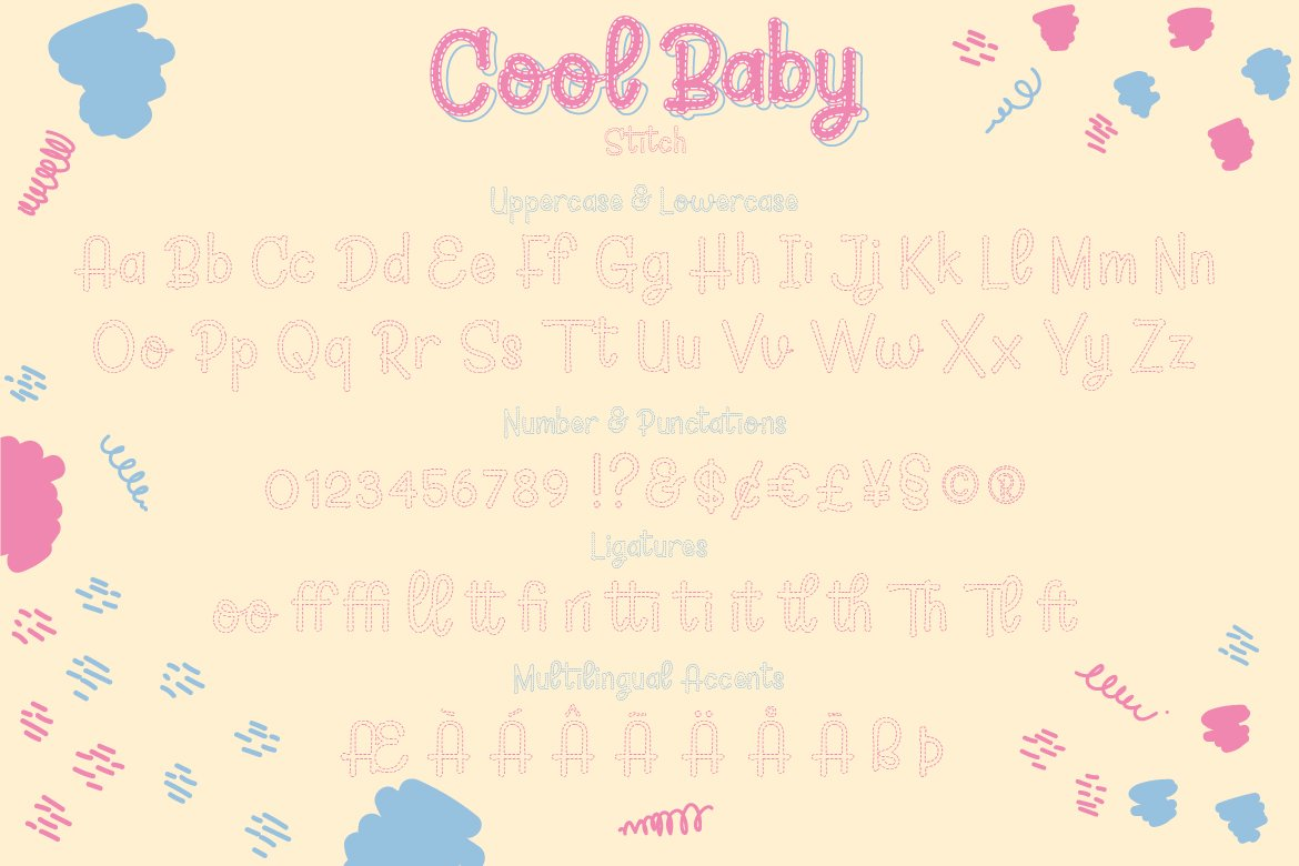 Cool Baby - A Fun Family Font example image 11
