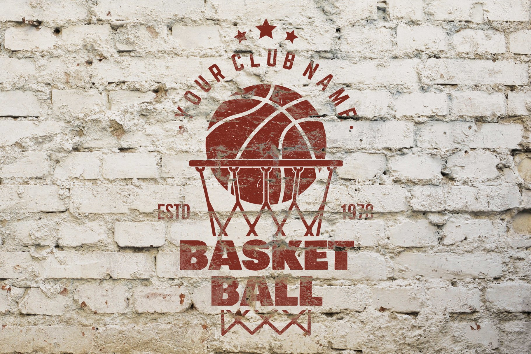 Basketball Club Badges and Labels example image 2