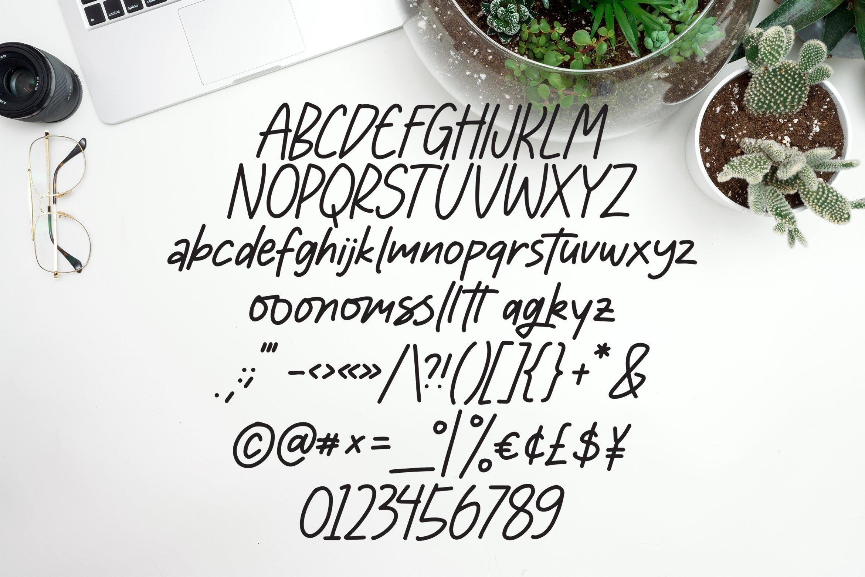 Moonlight - Handlettering Font example image 3