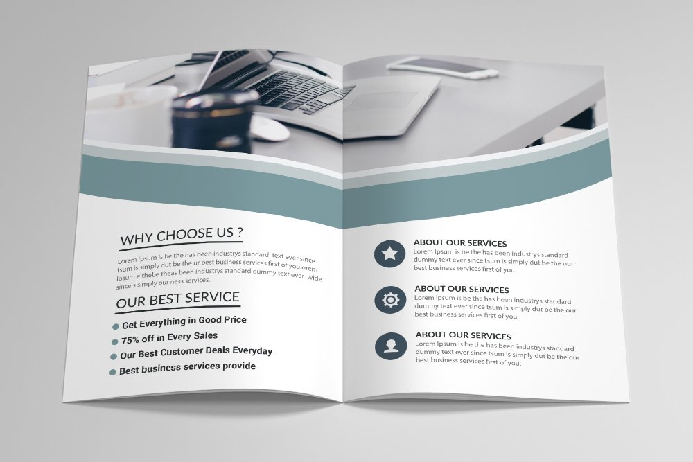 Business Bifold Brochure 16 Pages example image 9