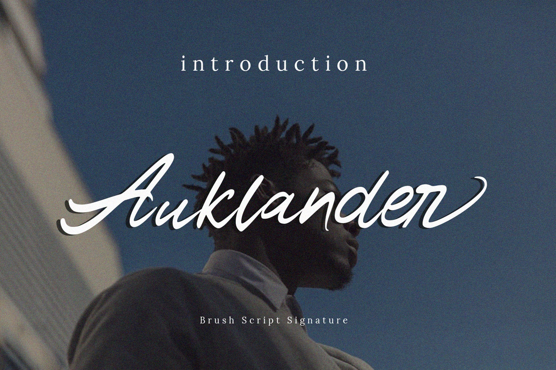 Auklander Font example image 1