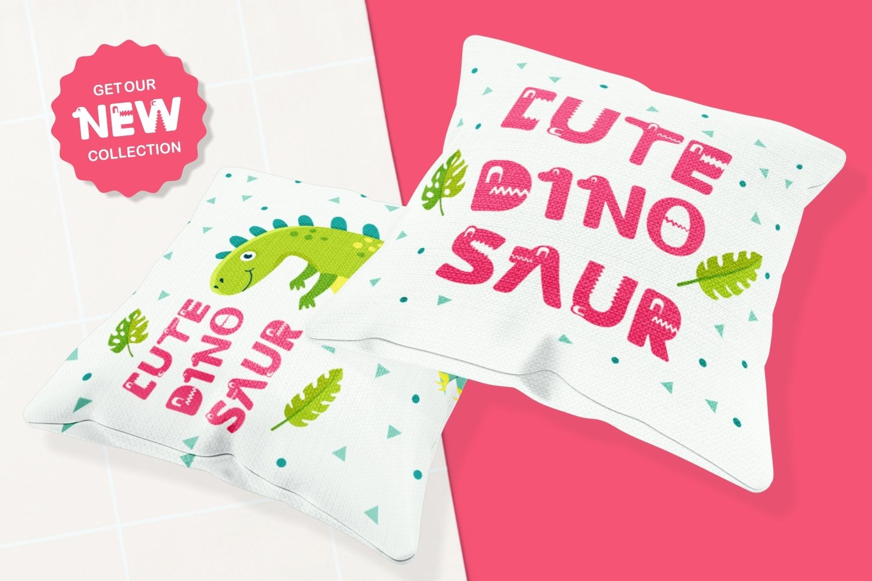 Dino Land - Playful Display Typeface example image 4