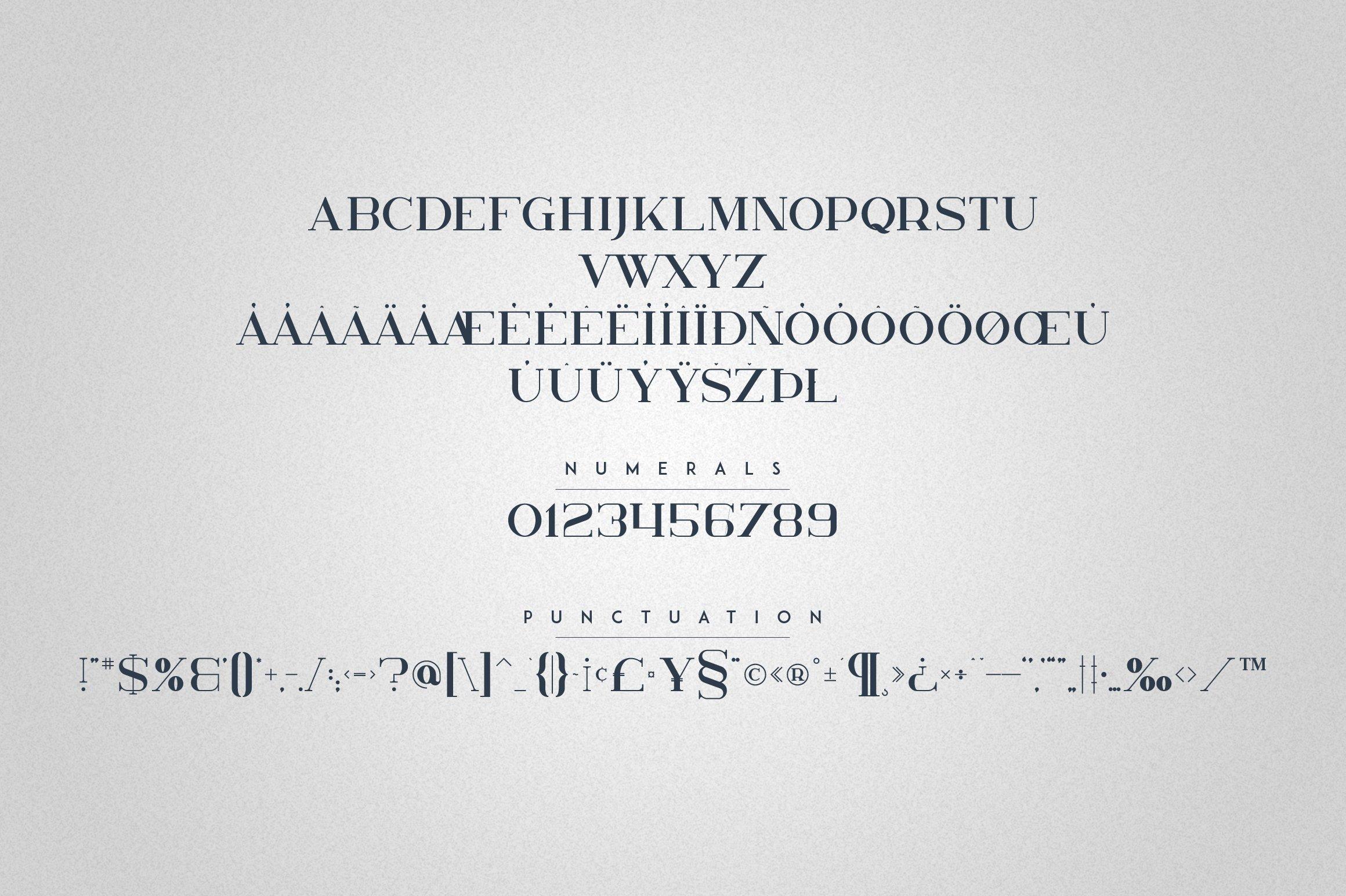 Kavo Serif Typeface | 5 weights example image 10