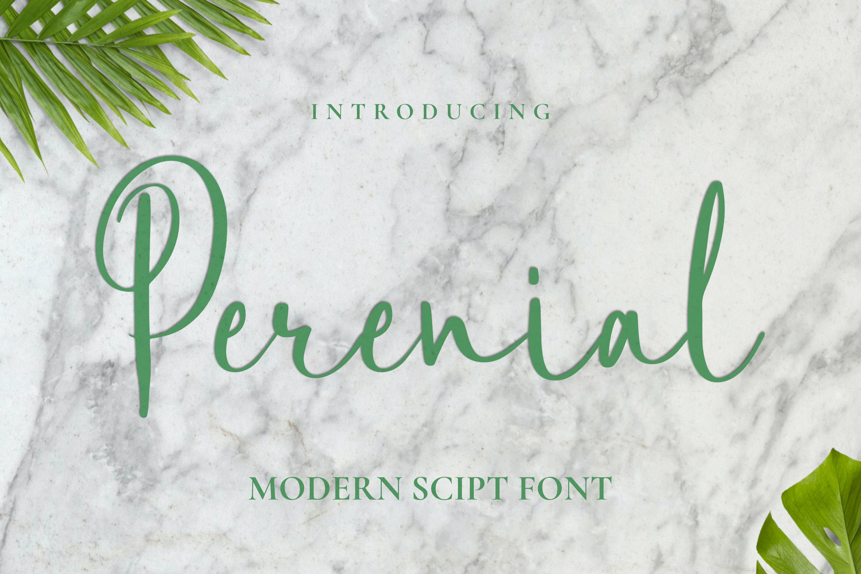 Perenial Font example image 1