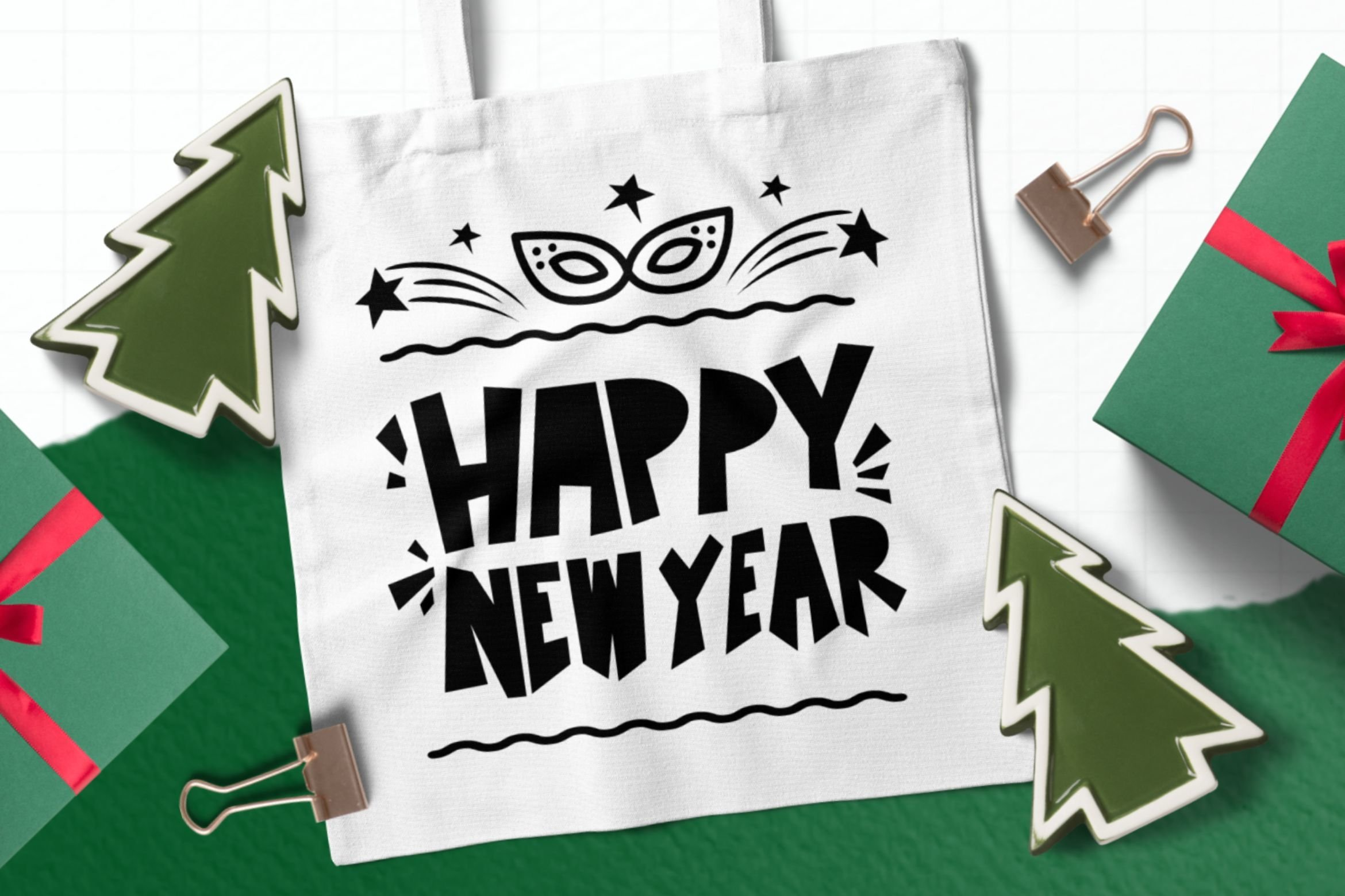 New Year Dingbats example image 5