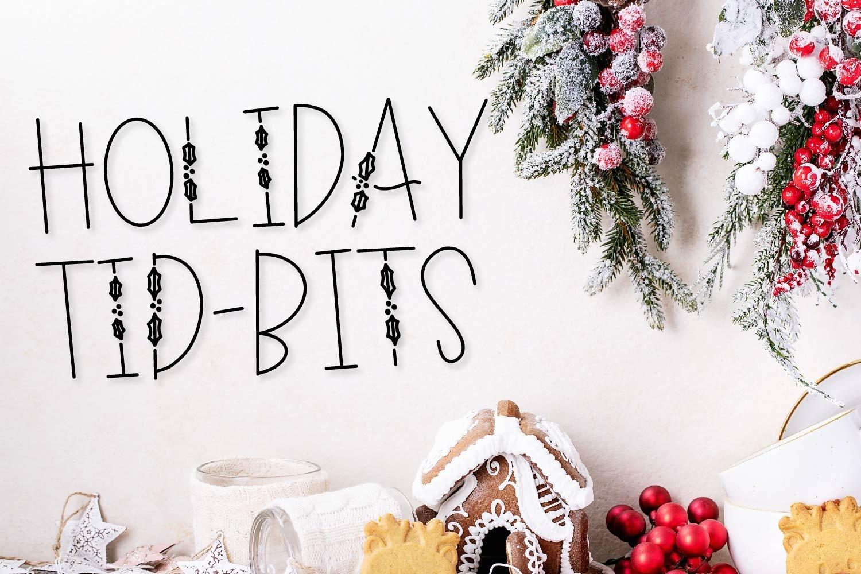 20 Christmas Fonts - A Christmas Font Bundle! example image 6