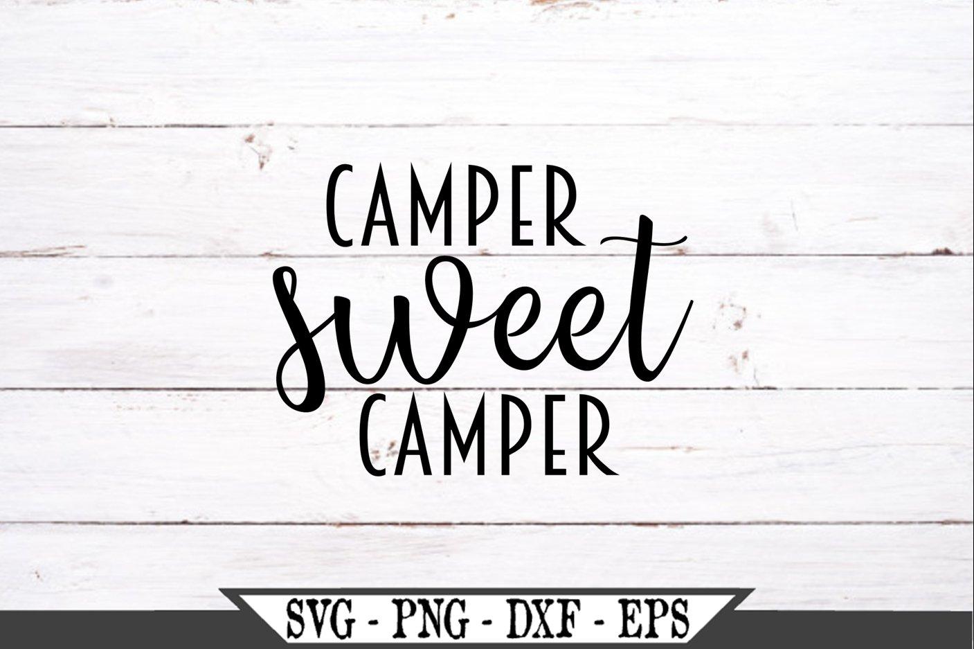 Camper Sweet Camper SVG example image 2