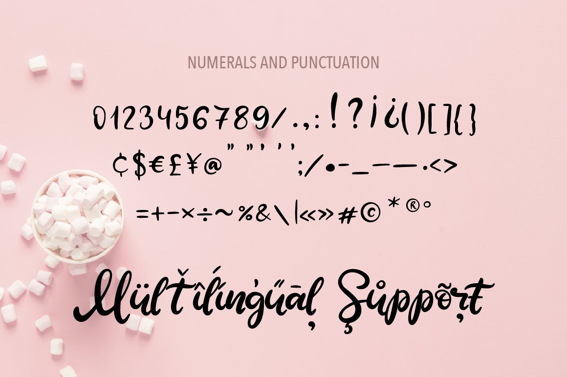 Sweet Tooth. A handwritten script font example image 4