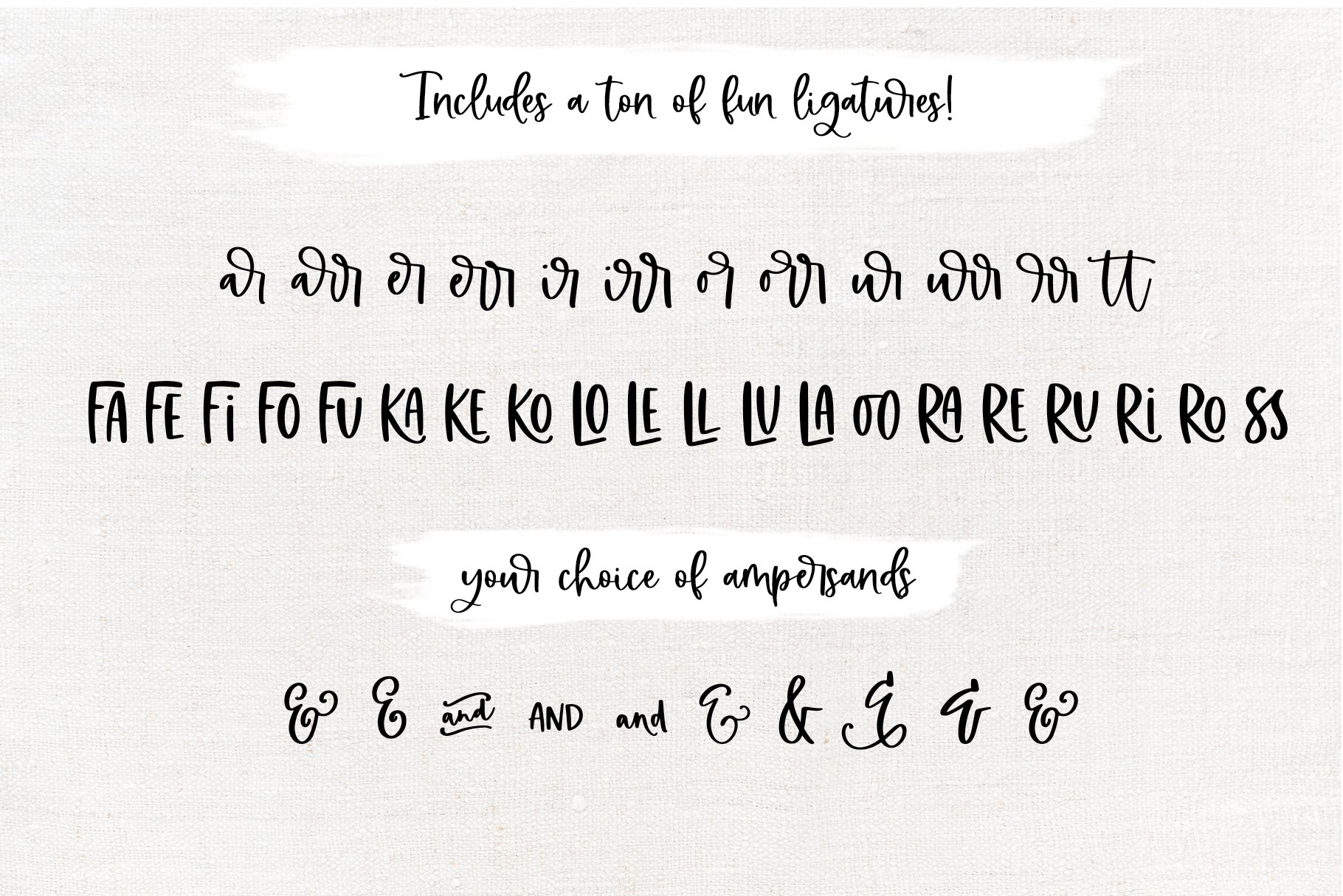 Farmland Acres - A Font Duo with Doodles example image 25
