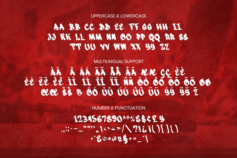 Goliath Font example image 4