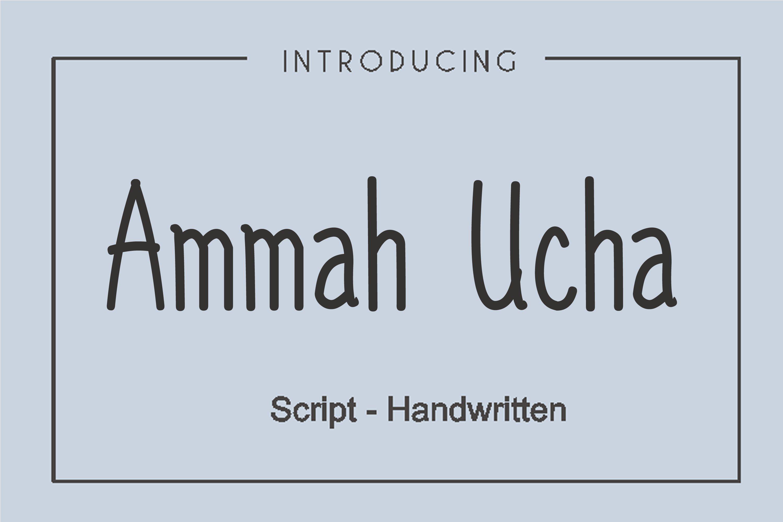 Ammah Ucha example image 2