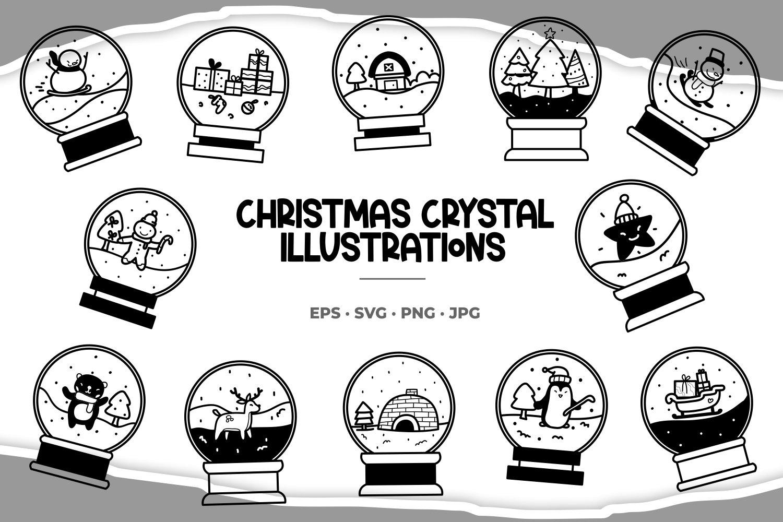 Christmas Illustrations example image 1