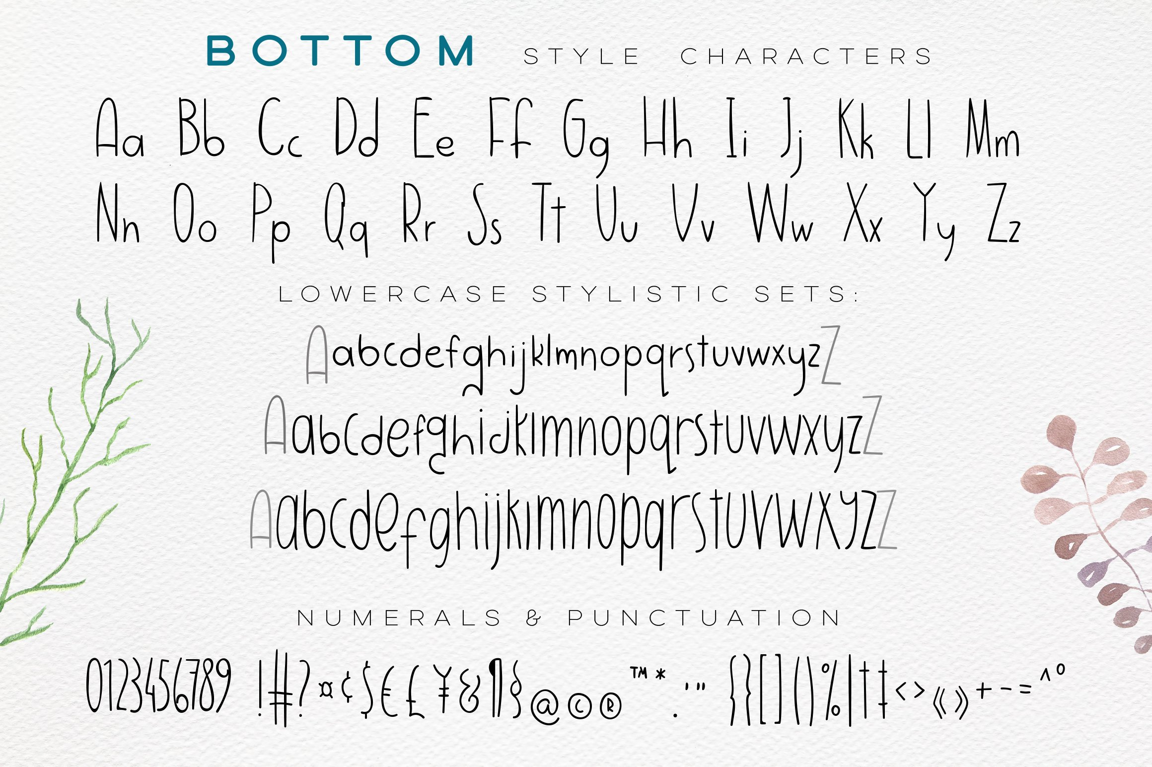 Jumpo Fox - thin bouncy font example image 6