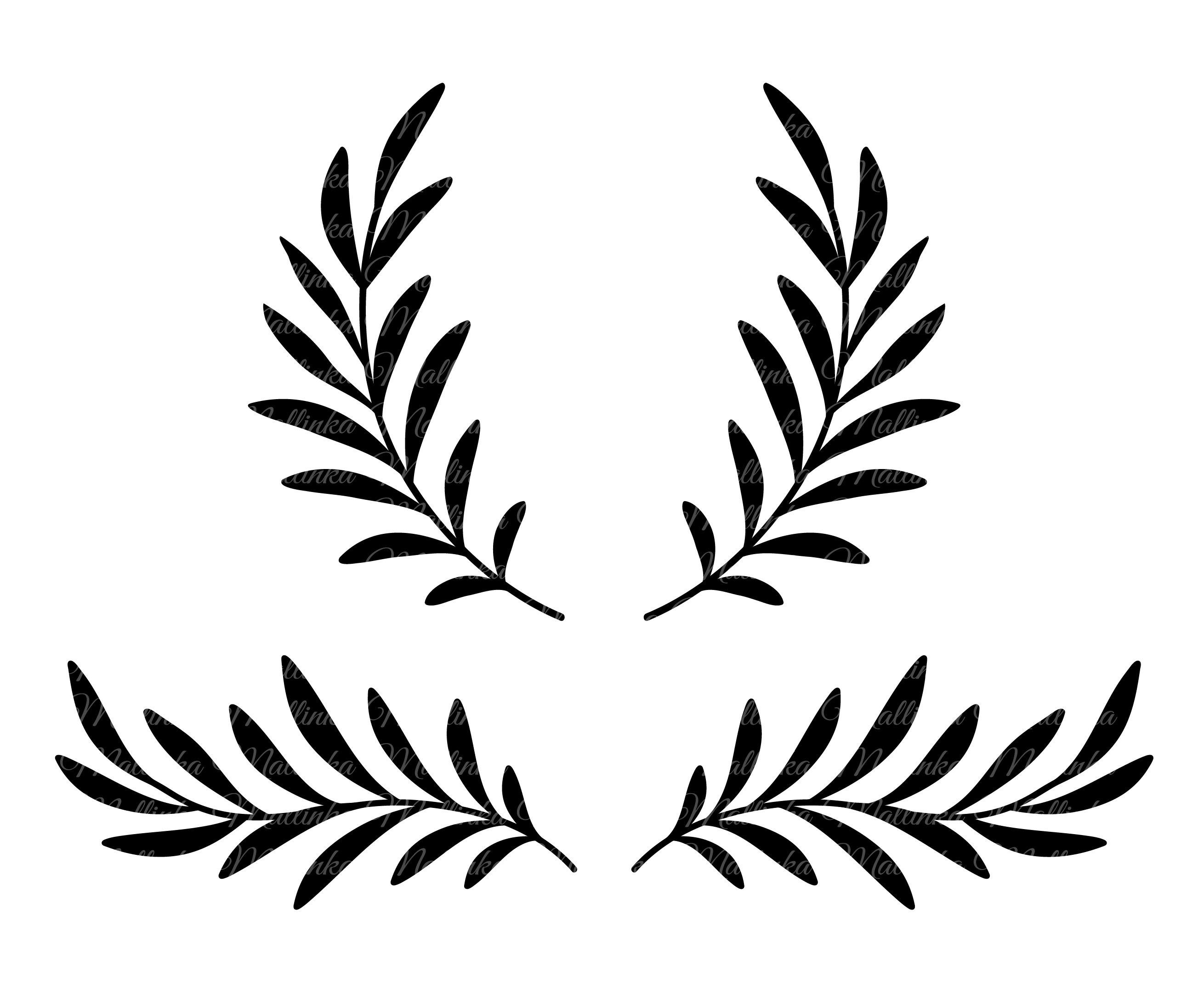 Garten Faltbare Matratze Olive Branch Silhouettes
