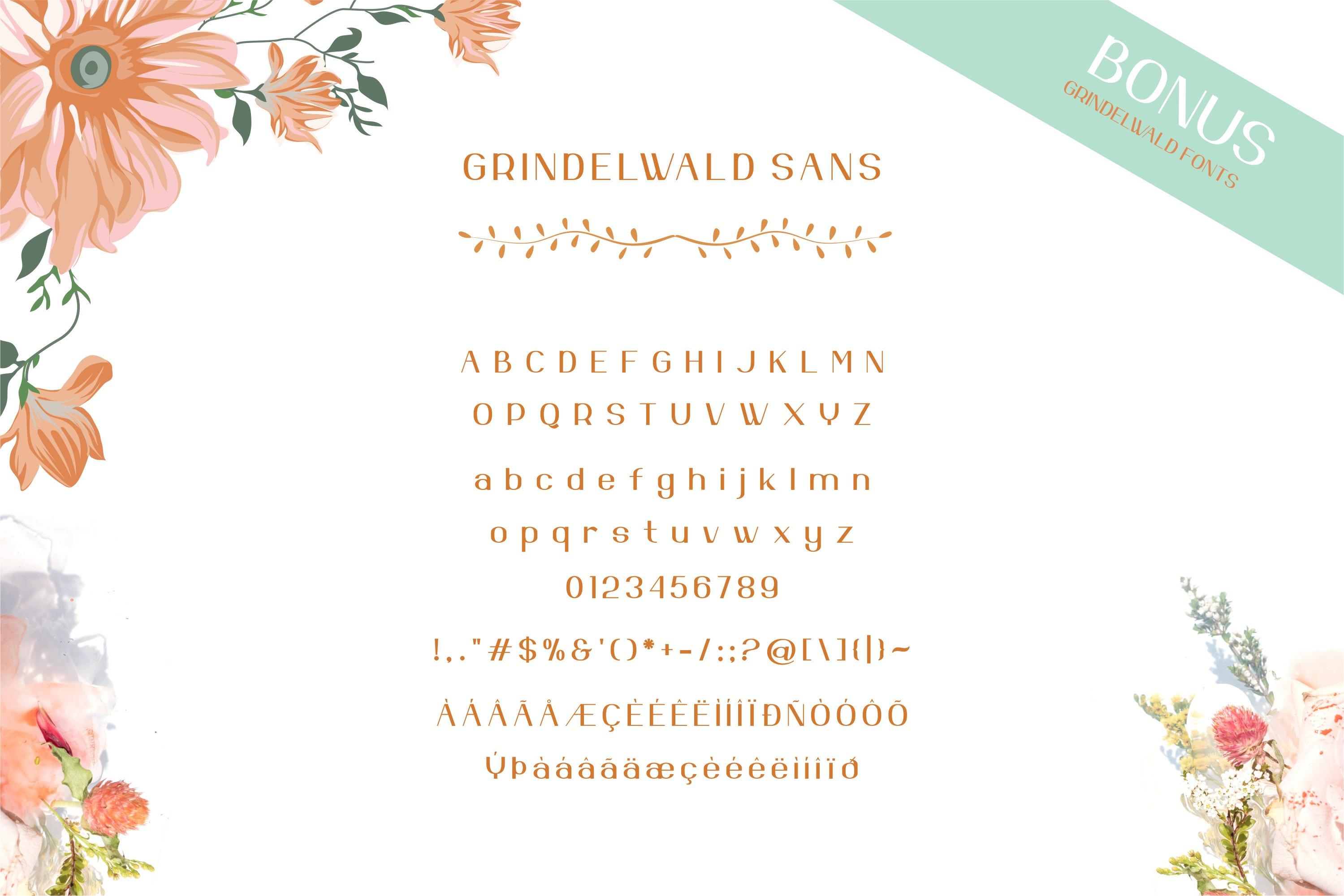 Apenzell Script | free wedding monogram logo example image 12