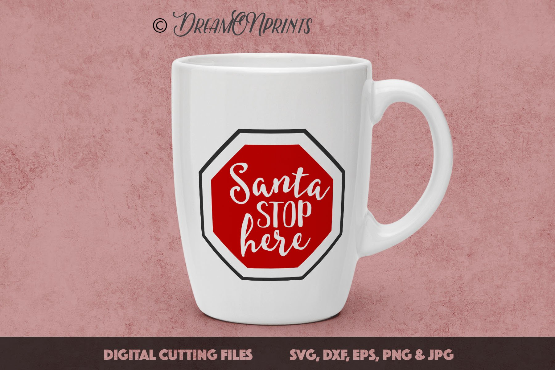 The BIG CHRISTMAS Holidays Bundle - 27 SVG Designs example image 11