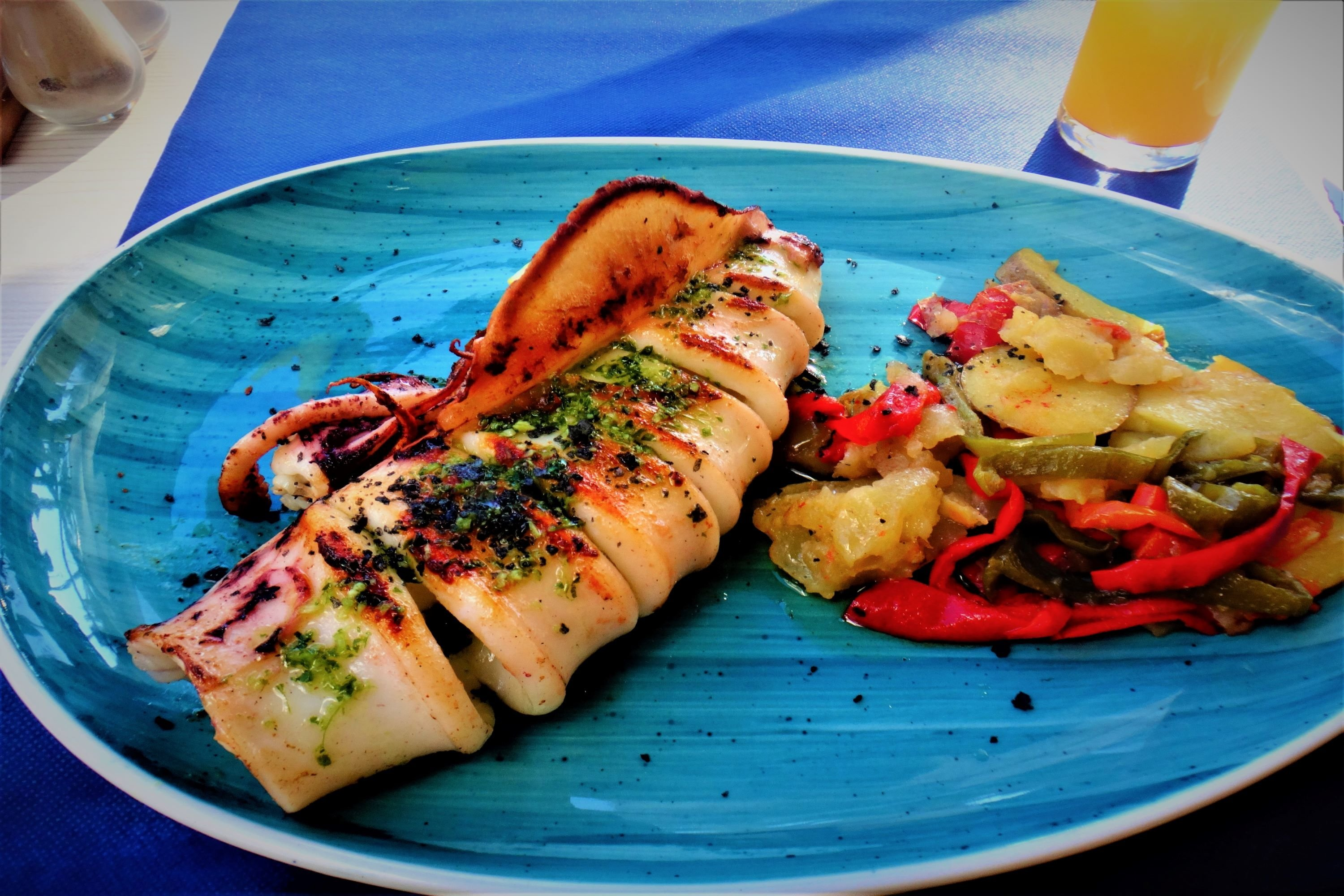 Delicious fresh seafood of Spain example image 1