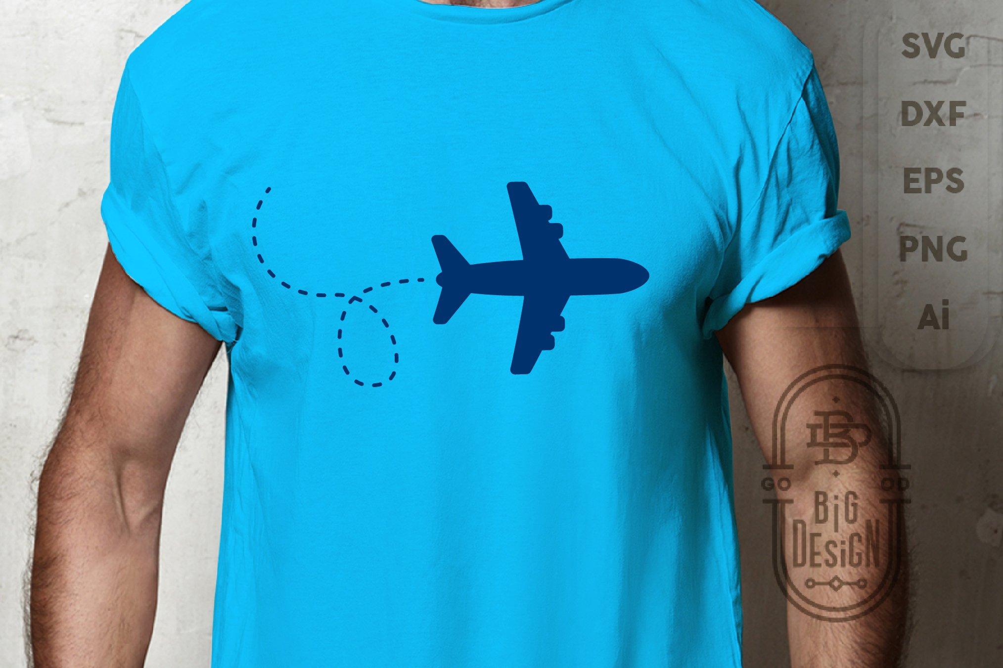 airplane cricut svg silhouette svg funny