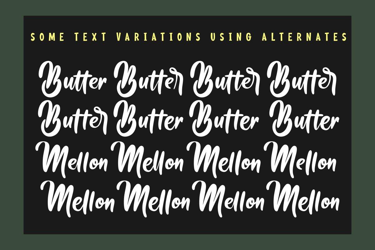 Butter Mellon example image 10