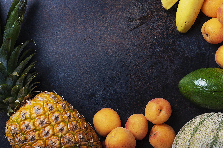 Concept of healthy vegan food. example image 1