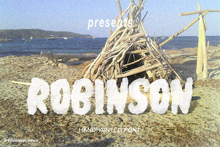ROBINSON FONT example image 8