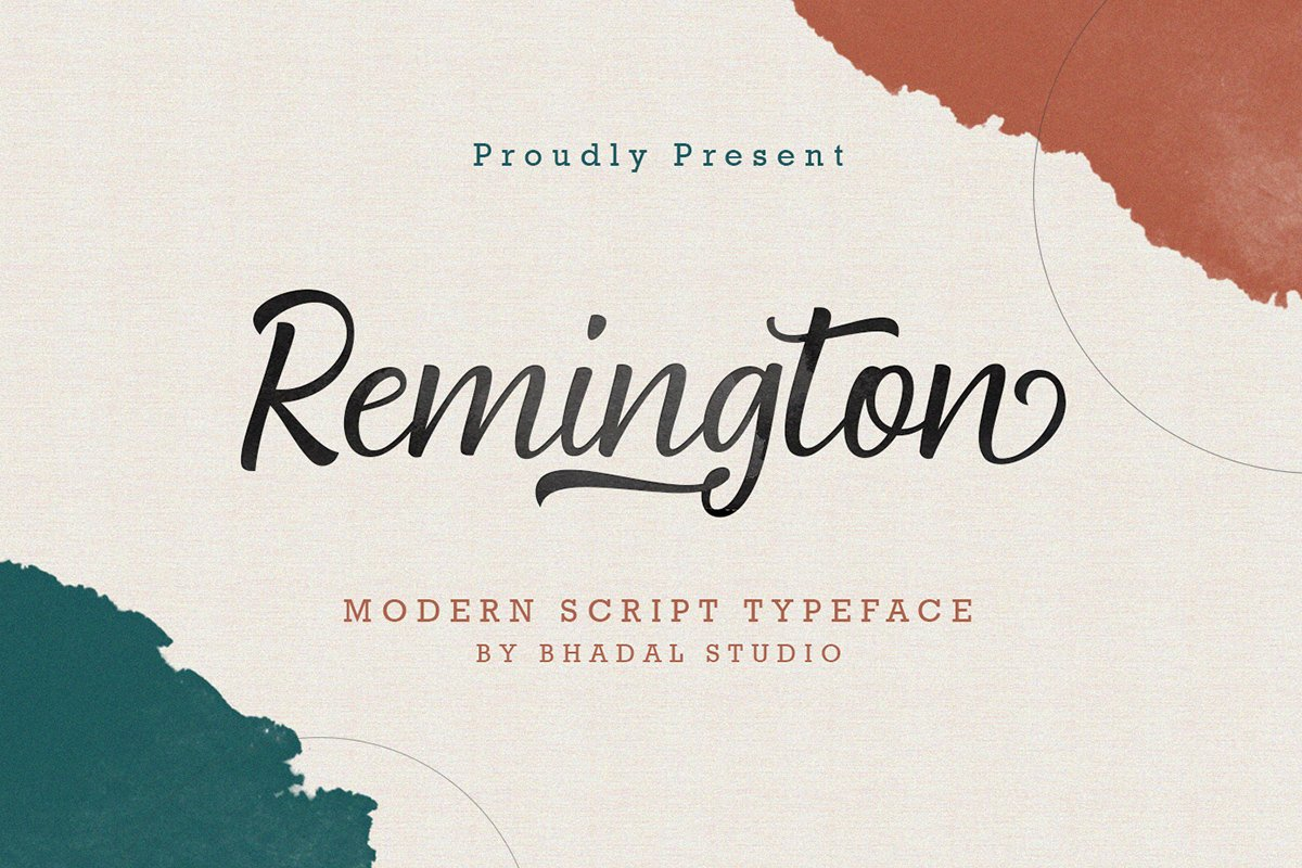 Remington Modern Script example image 1