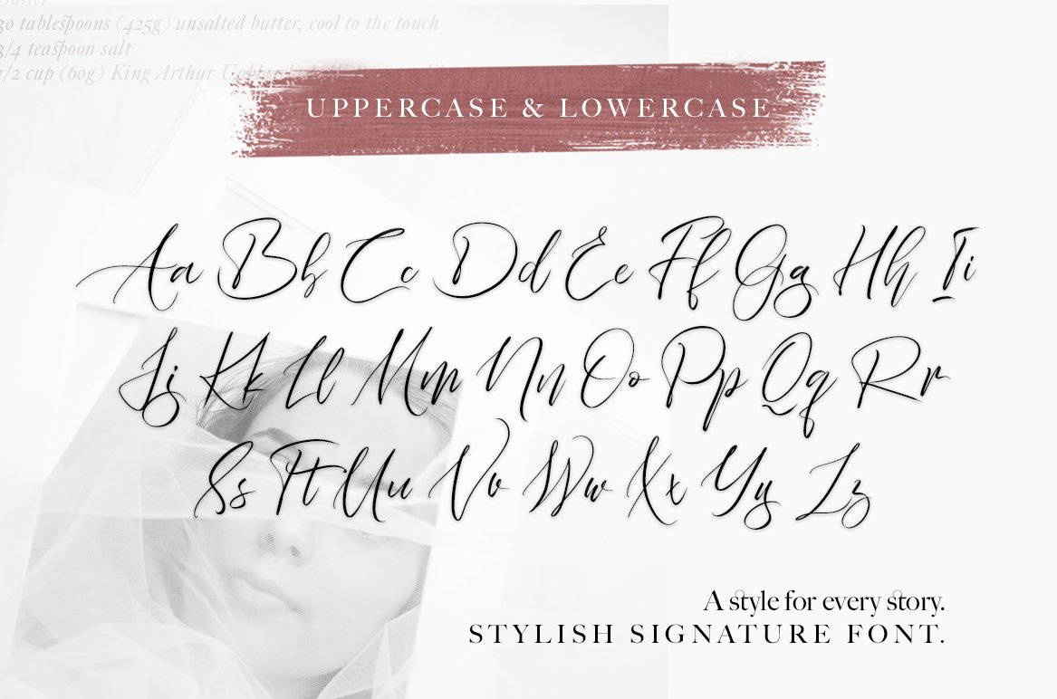 Familior - Signature Font example image 10