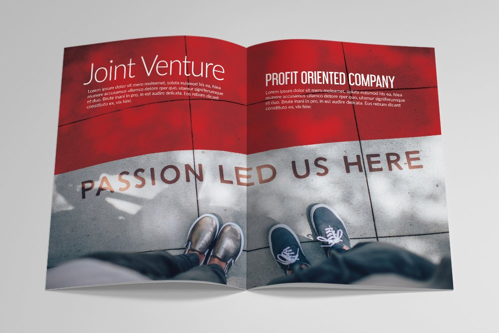 Business Corporate Bifold Brochure 16 Pages example image 5