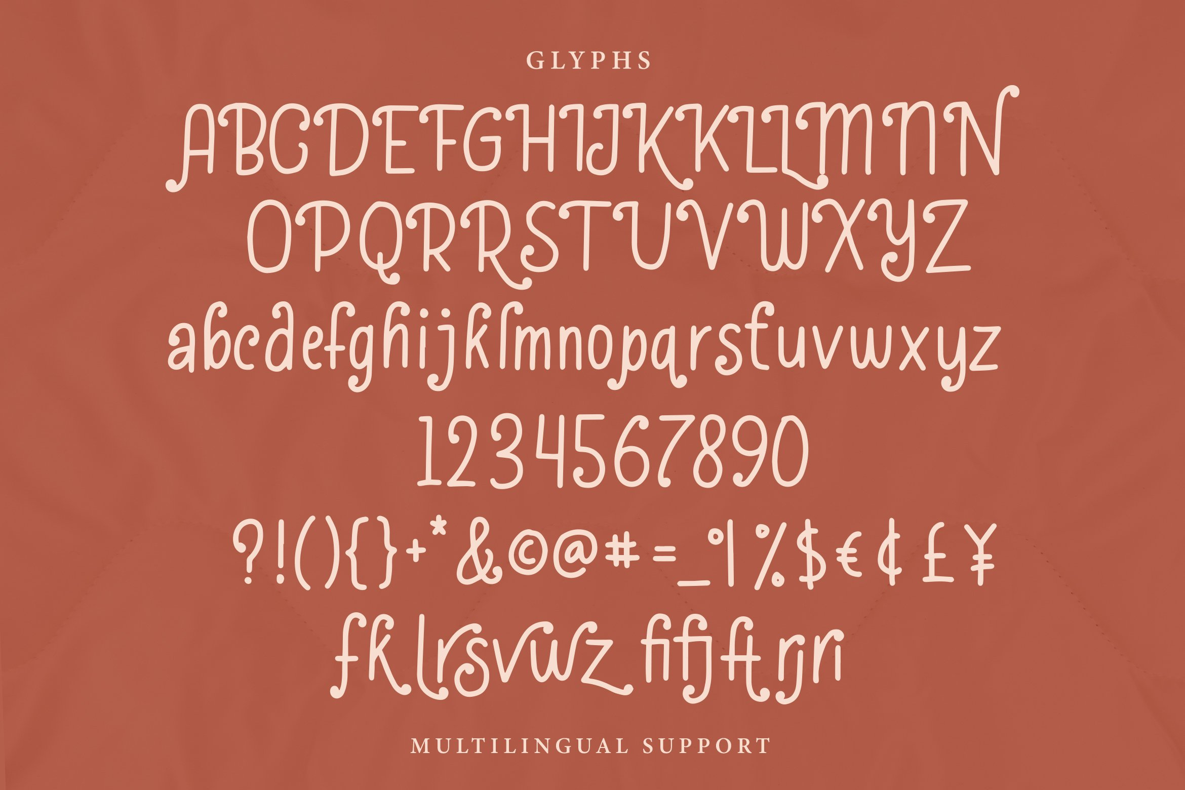 Kafterina - Fancy Casual Fonts example image 4