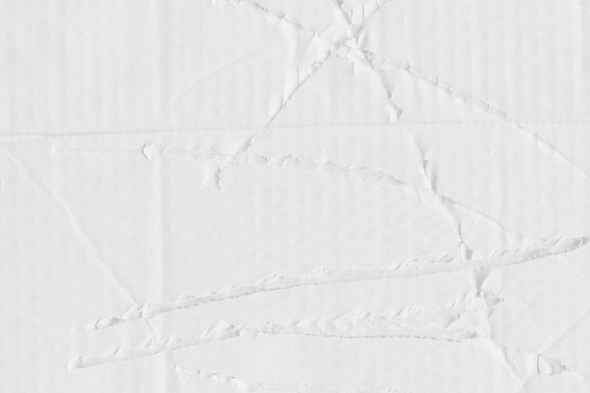 White Cardboard Textures 1 example image 4
