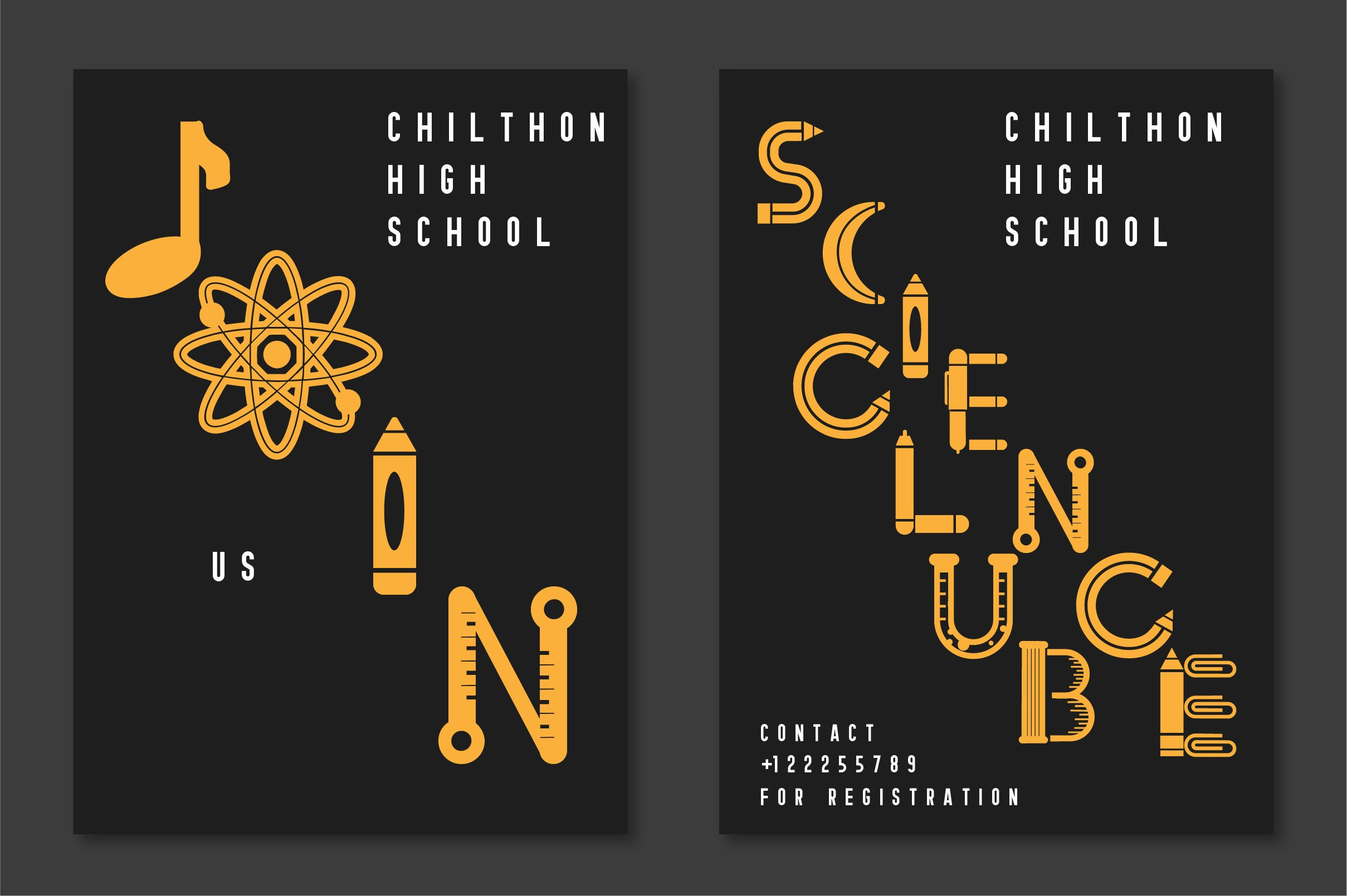 Back To School Font example image 4