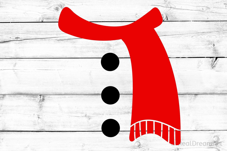 Snowman Scarf Svg Dxf Png Eps 332703 Svgs Design Bundles