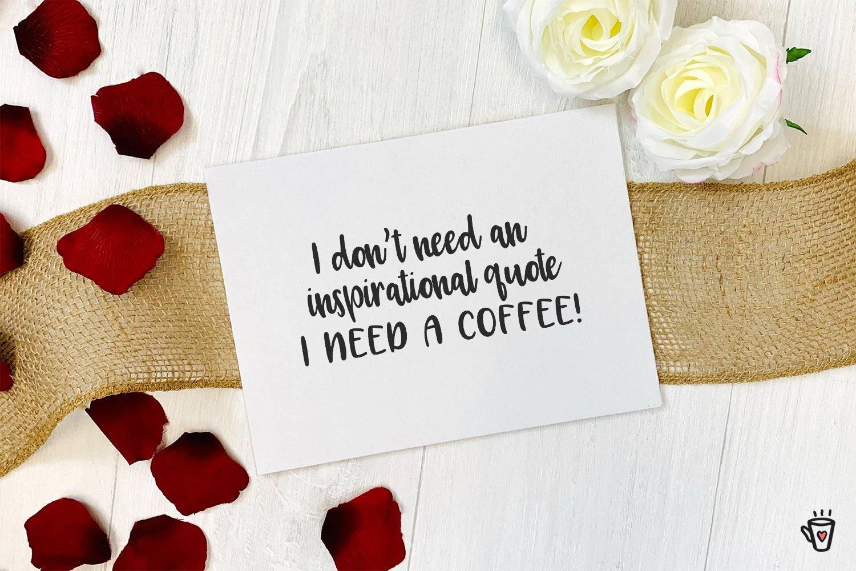Latte Love Sans example image 4