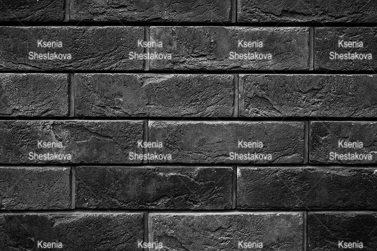 pattern of tinted black stone wall surface as a background example image 1