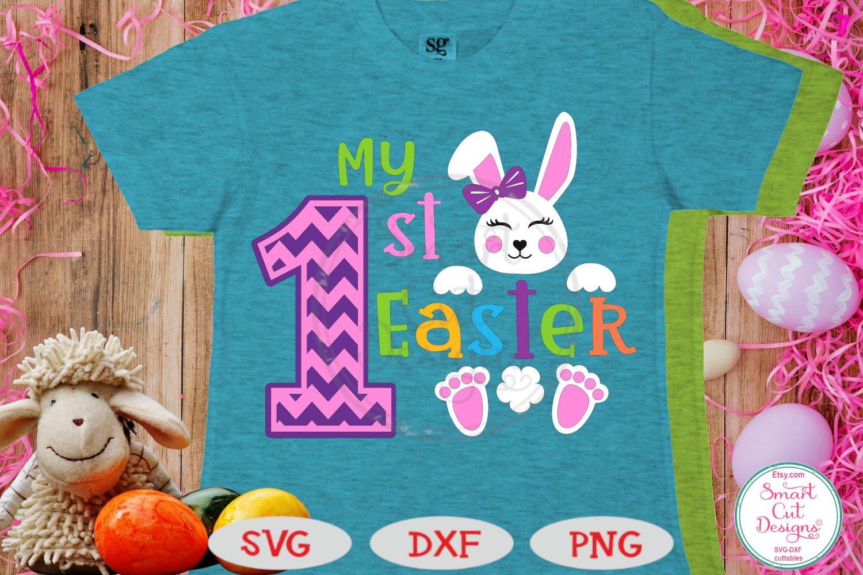 Easter Svg My 1st Easter Girl Svg Easter Bunny Svg Baby 533308 Cut Files Design Bundles