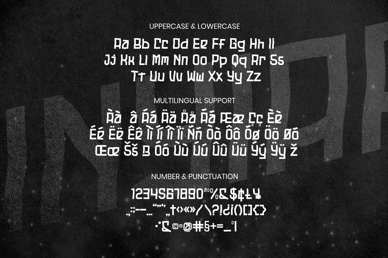 Unyiar Font example image 5