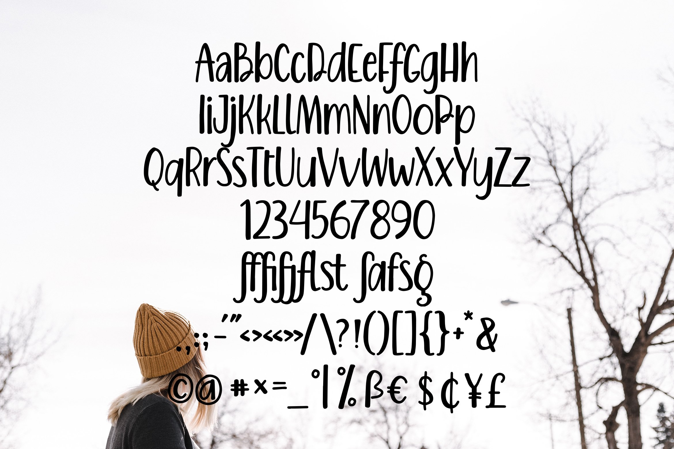 Berfina - Handlettering Font example image 4